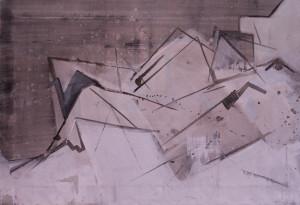 Der Schwan 07.2010 69,5x48cm